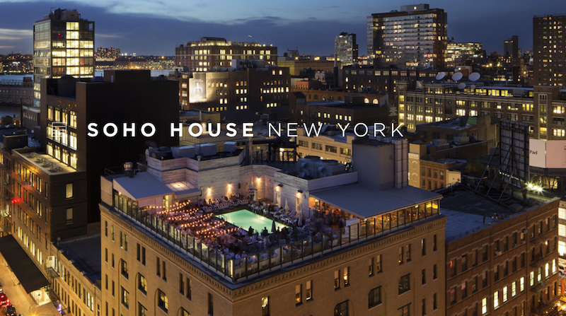 Soho house nyc address house plan 2017 for Hippest hotels in nyc
