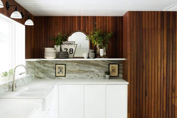 HGTV Restored by the Fords / Mirror : Garden Style Living / Design : Leanne Ford Interiors / Photo : Alexandra Ribar