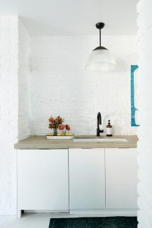 Vintage Enamelware Tray from: Garden Style Living / Pictured from: HGTV's Restored by the Fords / Design: Leanne Ford Interiors / Photo: Alexandra Ribar