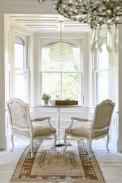 Antique Bistro Table: Garden Style Living / Design Leanne Ford / Photo: Erin Kelly